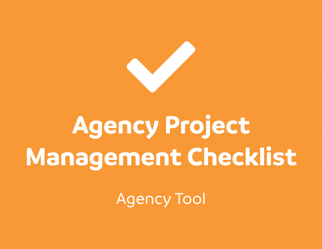 Agency Project Management Checklist